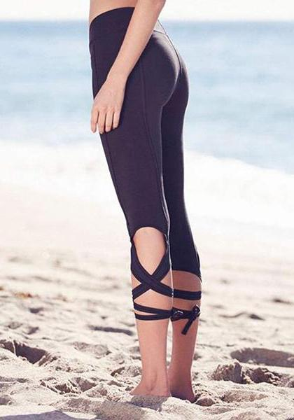 Strap Tight Yoga Pants