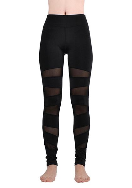 Stylish Mesh Legging For Sports Dancing