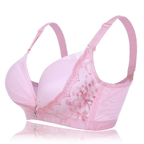 Wire-Free Strong Push-Up Bra-Sexy Bra-2ubest.com-Pink-US 36-US C-2UBest.com