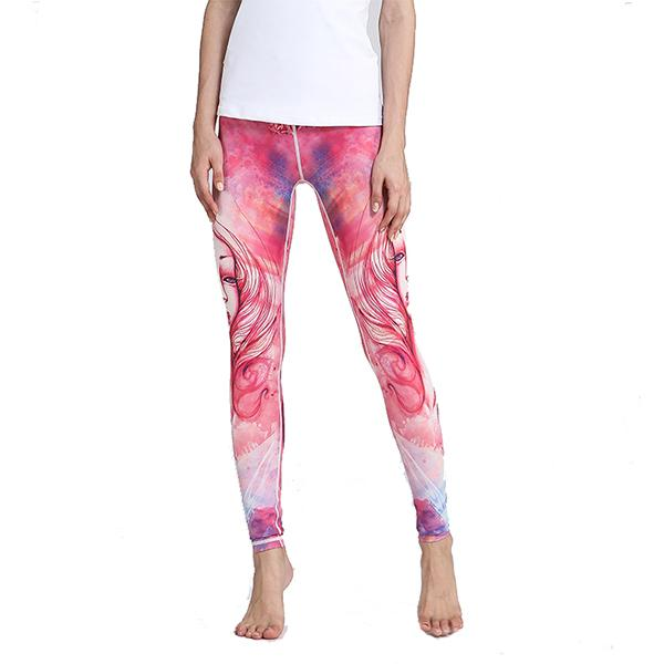Women's 12 Constellation Printed Yoga Pants
