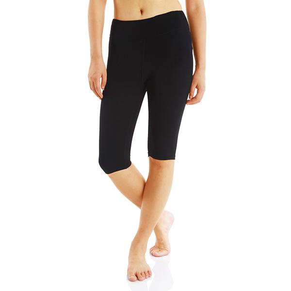 Damen Essential Capri Legging