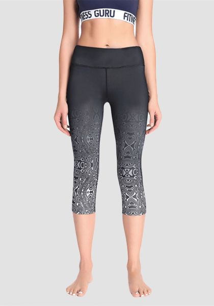 Women's Tight Eastic Sportswear Sexy Yoga Pants-Capris-2UBest.com-2UBest.com