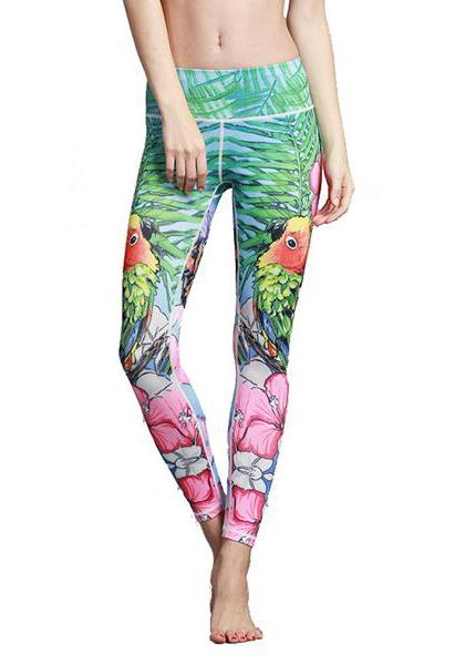 Women's Workout Printed Yoga Pants
