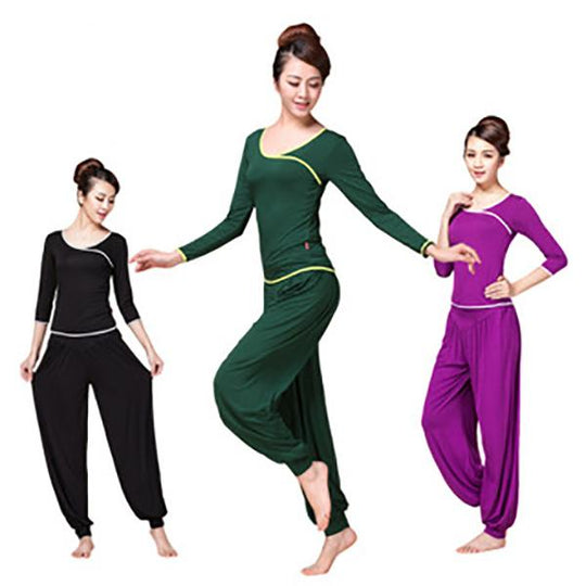 Womens Soft Yoga Sports Dance Harem Pants