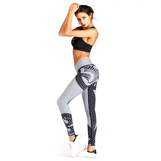 Women's Hit Color Yoga Pants Sports Leggings