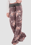 Relaxed Loose Baggy Floral Printed Pants