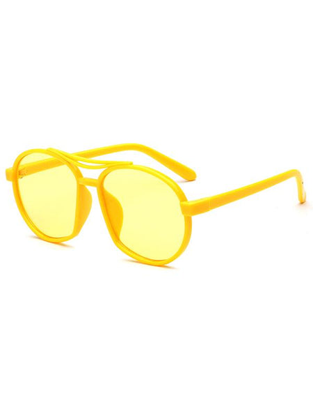 Classic Round PC Sunglasses