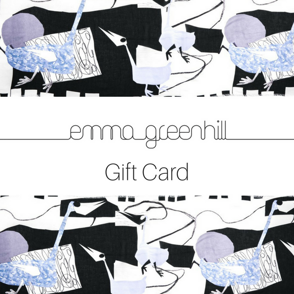 Emma Greenhill Gift Card