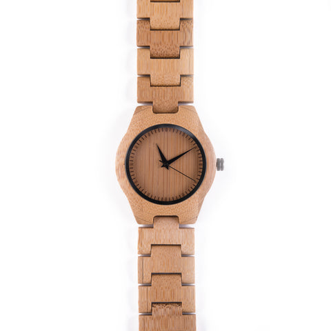 Fossey • Wooden Watch with a Wooden Strap