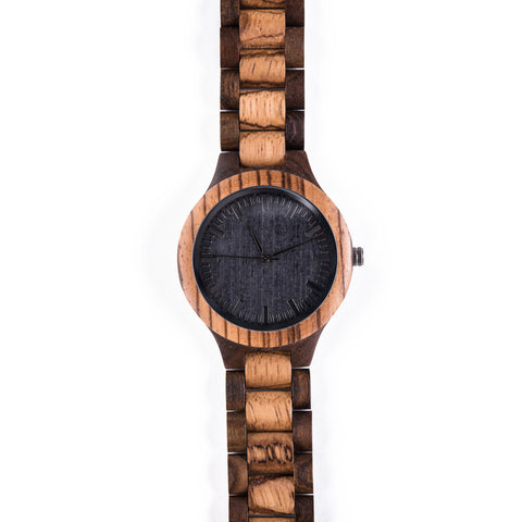 Blackbird Mens Wooden Watch