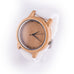 Wooden Watch side