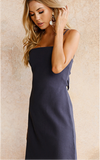 Chance To Be Angels Dress In Navy