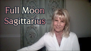 June 17th:  Full Moon in Sagittarius