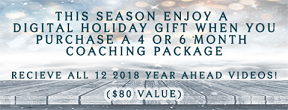 A GIFT FOR YOU ~ When you purchase a 4 or 6 Month Coaching Package