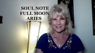 Soul Note for Full Moon in Aries Monday, September 24th