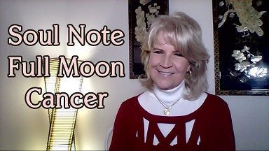 December 22nd:  Full Moon in Cancer