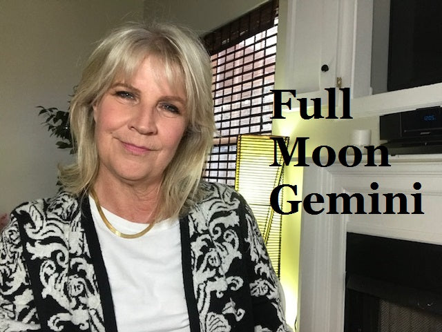 December 12th:  Full Moon in Gemini