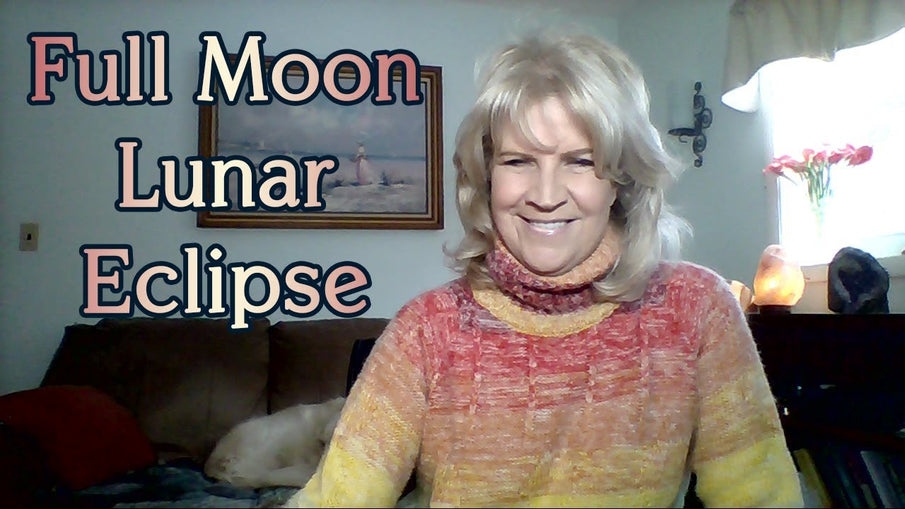 January 21st:  Full Moon Total Lunar Eclipse in Leo