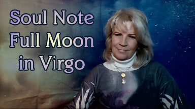 February 19th:  Full Moon 1 degree Virgo ~