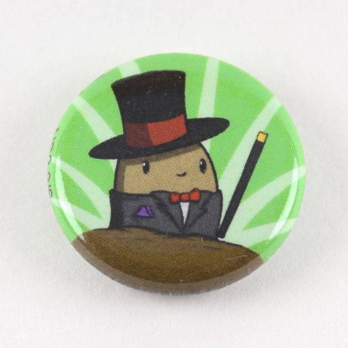 Dapper Potato magnet button