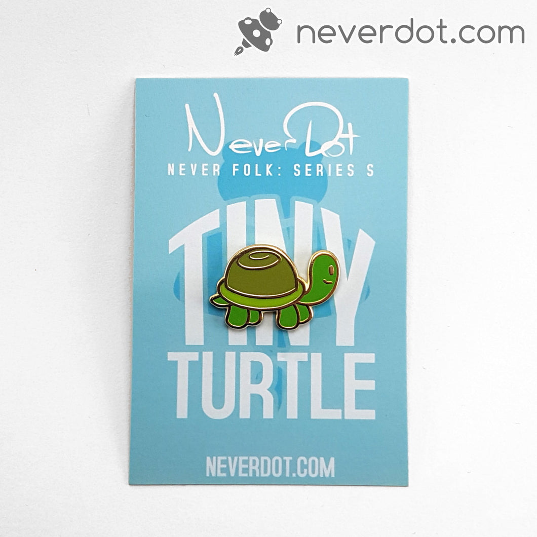 Baby Turtle enamel pin