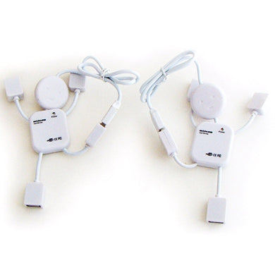 Novelty Style Little Human Figure Shape Micro USB Hub 2.0-mijuprint-mijubuy-미주프린트-미주바이