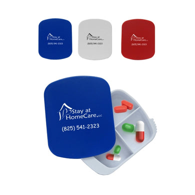 4 Compartment Pill Box - One Color-mijuprint-mijubuy-미주프린트-미주바이