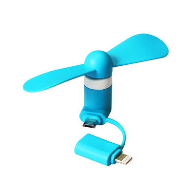 Micro USB mini Fan for iPhone iOS and Android Phones-mijuprint-mijubuy-미주프린트-미주바이