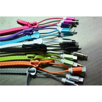 Zipper-sharp USB Charging Cable-mijuprint-mijubuy-미주프린트-미주바이