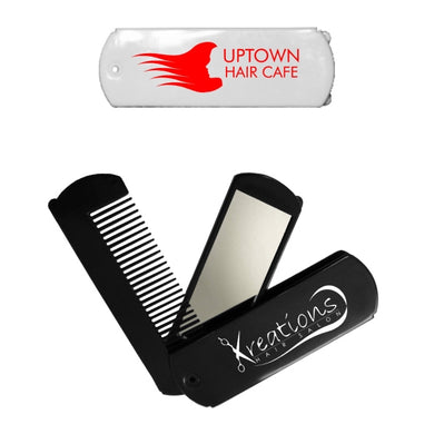 Union Printed Folding Travel Mirror & Comb Set-mijuprint-mijubuy-미주프린트-미주바이