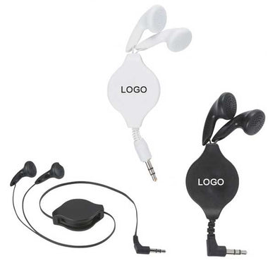 Retractable ABS Ear Buds-mijuprint-mijubuy-미주프린트-미주바이