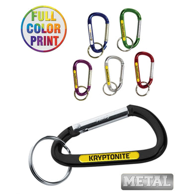 6mm Metal Carabiner Keychain - Full Color-mijuprint-mijubuy-미주프린트-미주바이