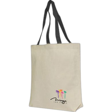 100 % Cotton Canvas Tote Bag-mijuprint-mijubuy-미주프린트-미주바이