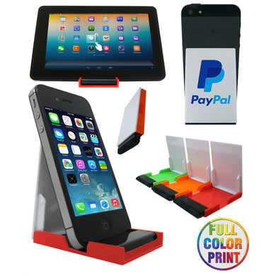 Union Printed, Mobile/Tablet Stand w/Screen Cleaner-Full Color-mijuprint-mijubuy-미주프린트-미주바이