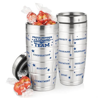 Stainless Steel Message Tumbler & Chocolates-mijuprint-mijubuy-미주프린트-미주바이