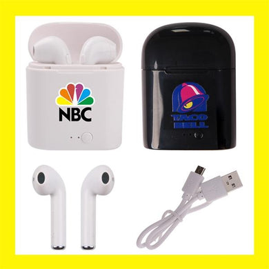 무선 브루터스 에어버드(AirBuds Wireless Bluetooth Headphones: 100 Pcs)