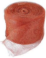 "GeBot 5"" X50FT Knitted Copper Mesh for Wildlife Control, Copper Blocker Wildlife Stopper"