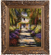 La Pastiche Garden Path at Giverny Minature Art