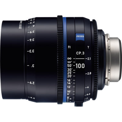 Zeiss CP.3 - T2.1 100mm - metric