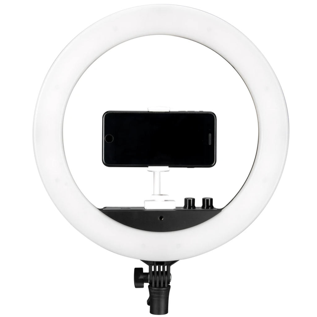 NANLITE Halo 14 Bi-Color LED Ringleuchte (Streaming, YouTube, Beauty, Gaming)