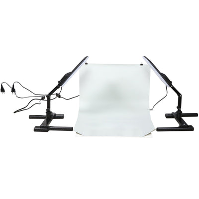 NANLITE Compac 20 2-Leuchten Produktfoto KIT (Food, Beauty, Webshop)
