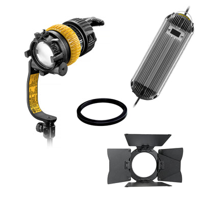 Dedolight 90W Turbo LED Light Kit Bi-Color (AC Operation)