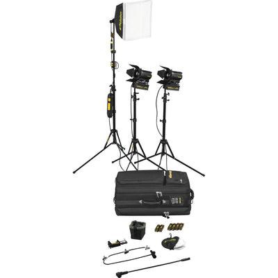 Dedolight 3-Leuchten Kit with Soft Case