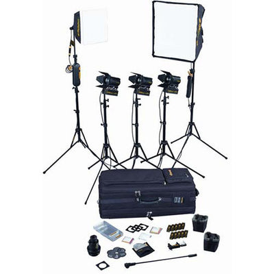 Dedolight 5-Light Kit with Soft Case