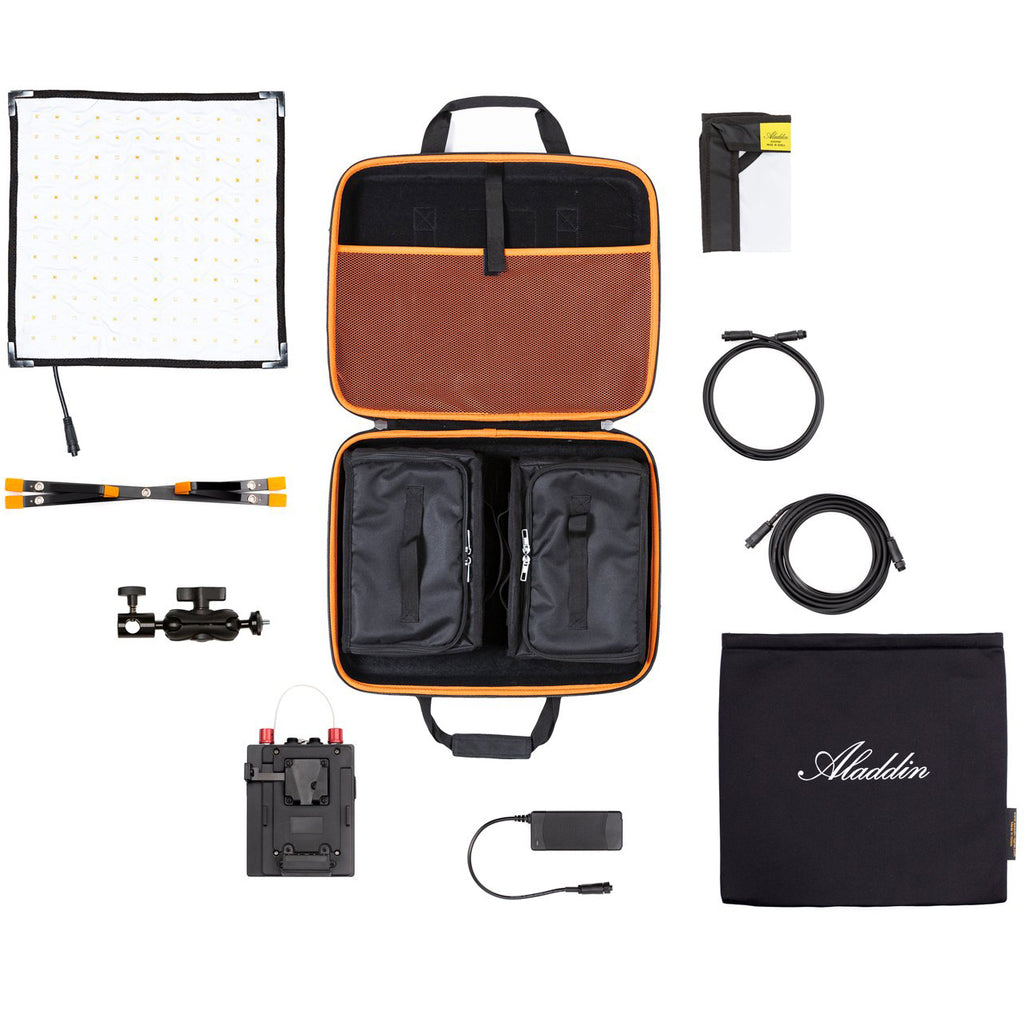 Aladdin BI-FLEX M7 Kit (70W Bi-Color) w/ V-Mount and Soft Case