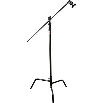 "Matthews D/R spring loaded 40"" C+Stand w/Grip Head & Arm, Black"