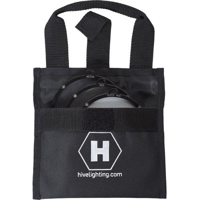 Hive Lighting - HDP 3 Lens Set (Medium, Wide, Super Wide) w/ Bag for BEE 50-C or WASP 100-C