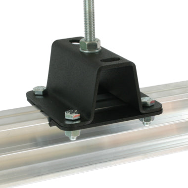 Doughty STUDIO RAIL CEILING BRACKET 50mm High (Top Hat) supplied with rail clamps