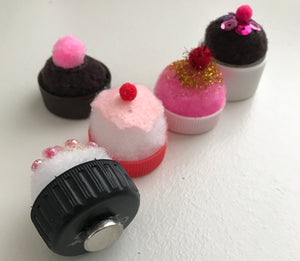 Easy Cupcake Magnets