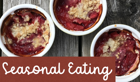 Strawberry Rhubarb Crumble Ontario